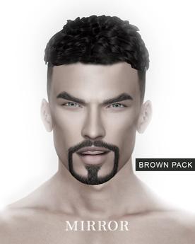 MIRROR - Rick Hair -Brown Pack-