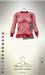 [sYs] MELLOW sweater (fitted & body mesh) - red
