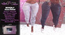 #Cranked# BEVERLY Jeans Rebel