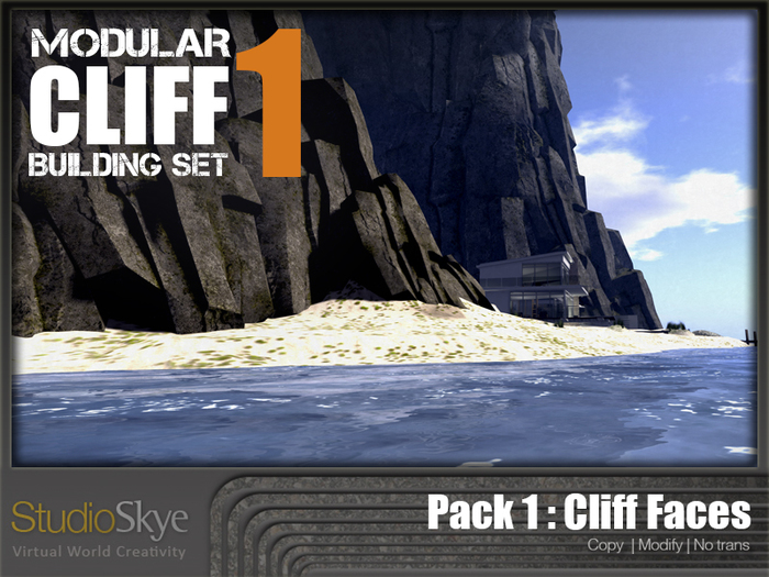 Skye Modular Cliffs : Pack 1 - Cliff Faces