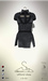 [sYs] URSULE dress (body mesh) - black