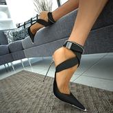 Sargento Black High Heels