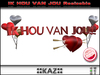 IK HOU VAN JOU SCULPTED TEXT RED RESIZABLE ::KAZ:: / Emotion Triggering Gifts/Birthday Gift love gif