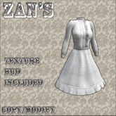 Zan's Lace morning gown short