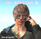 [GGL]Round sunglasses-gingam.p[Group gift]