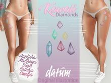 DATUM // Kawaii Diamonds TATTOO ♀