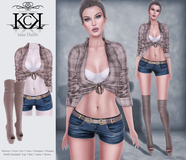 :::KC::: Jane Outfit