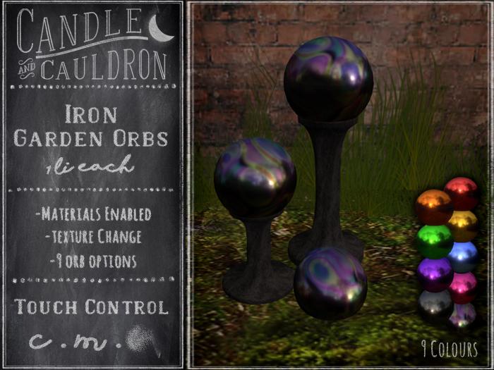 {C&C} Iron Garden Orbs