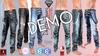 DEMO Destroy Male FATPACK Denim Ripped Jeans Pants - Mesh - TMP, Adam,Slink,Aesthetic,Signature Gianni -Geralt,Belleza J