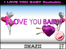 ピンクサイズを変更 - - /感情トリガギフト/誕生日ギフト愛のgifを私はあなたが赤ちゃんスカルプテッドテキストLOVE