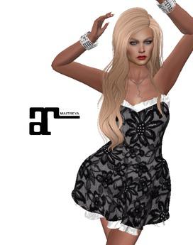 XK Maitreya Alice Dress Black