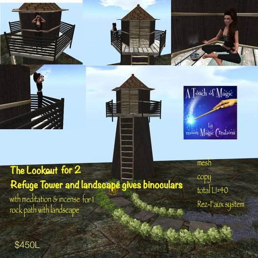 The Lookout Tower & Refuge-Crate