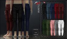 [BrunStyle] Soft Cotton Pants - Black