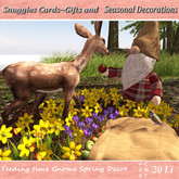 Feeding time Gnome Spring Decor By Snuggles