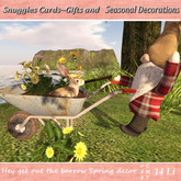 Hey get out the barrow Spring decor By Snuggles