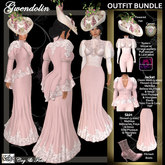 C&F Gwendolin 2 Belle Epoque Outfit BUNDLE - PINK - Mesh, Fitmesh & Mesh Body sizes