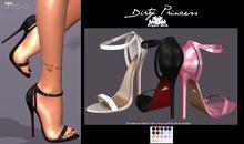 -*Dirty Princess** Dirty Street Princess Heels-20 Colors ADD ME