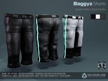 Baggyz Shorts (Electro) V.3 (UNISEX) [Neurolab Inc.]