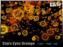 Stars Eyes Orange