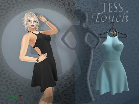 [T.T] TeSs Touch Dress MILLI Blue Ice