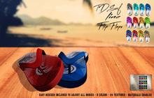 ^TD^ Surf Line Flip Flops