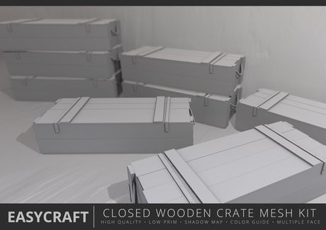 EasyCraft - Full Perm Closed Wooden Crate