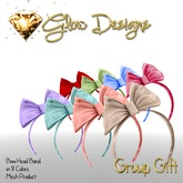 .:Glow Designs:. Hair Bow Gift