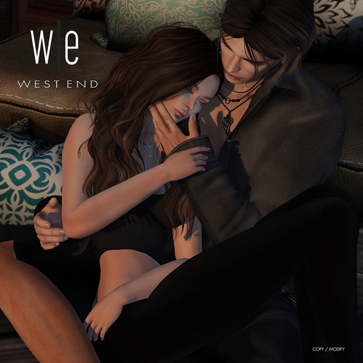[ west end ] Poses - State of Love - Couples Pose (add)