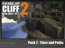 Skye Modular Cliffs : Pack 2 - Tiers and Paths