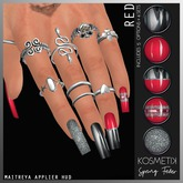 .kosmetik Nail Applier - Spring Fever Red MAITREYA