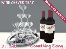 {{Something Savvy}} Wine Serving Tray - Now with BENTO