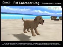 Gaagii - Pet Labrador Puppy Dog V2 ((BOXED)) touch to open
