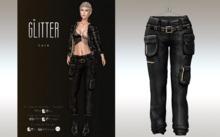 GLITTER - LARA Fitmesh Cargo Pants Plumb