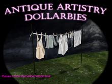 DOLLARBIE Victorian Clothesline