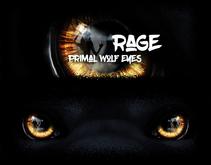 :Rage: Primal Wolf Eyes - Amber (Boxed)