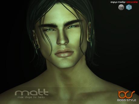 .::Boss Style::. Shape Matt for bento - Catwa Victor