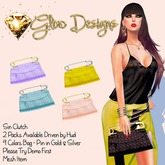 .:Glow Designs:. Sin Clutch T-1 Soft BOXED