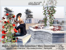Maya's -  Fountain with Animations / Menu Decorations