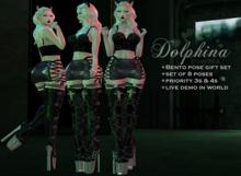 {CowTea} Dolphina Pose SET - Gift - [Pr.3 & Pr.4]