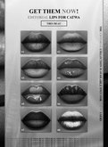 TRES BEAU MAKEUP THE EDITORIAL LIPS COLLECTION #DEMO