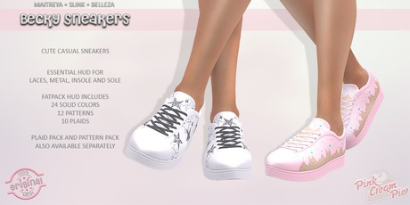 !PCP :: Becky Sneakers [FATPACK]