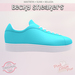!PCP :: Becky Sneakers [Turquoise]