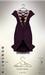[sYs] ELLEA dress (body mesh) - claret