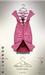 [sYs] ELLEA dress (body mesh) - pink