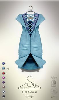 [sYs] ELLEA dress (body mesh) - sky GIFT <3