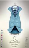 [sYs] ELLEA dress (body mesh) - sky