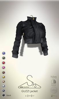 [sYs] GUZZI jacket (body mesh) - black