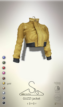 [sYs] GUZZI jacket (body mesh) - gold