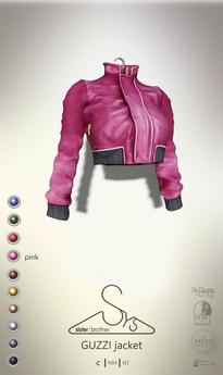 [sYs] GUZZI jacket (body mesh) - pink GIFT <3