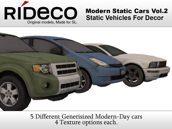 RiDECO - Modern Static Cars Vol 2